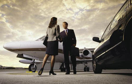 airport-limousine-private-jet-service