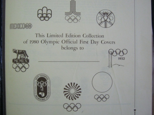 Russian Olimpics Stamps