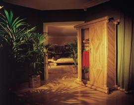 Exotic Wooden Wardrobe