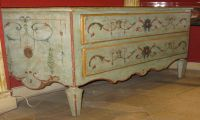 Pale Blue Commode