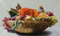 Nacimiento de Frutas Painting